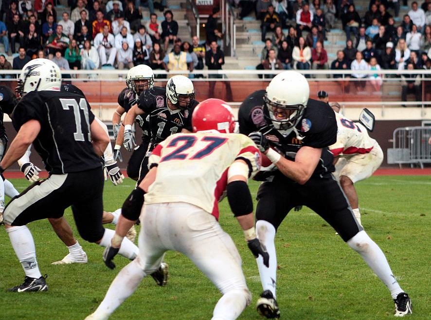 Thonon vs Bologna Doves 2009 (c) EFAF