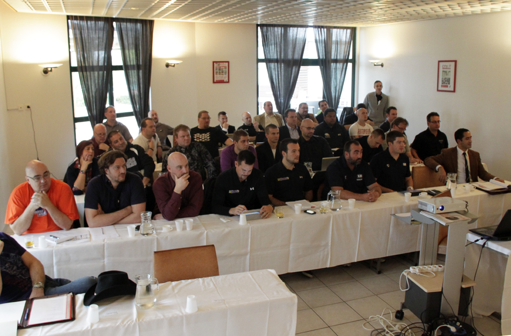 EFAF Club Team Meeting 2012 (c) EFAF (Jose Rebes)